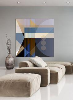 Abstract Print Abstract Geometric Art Modern by CoolStuffArtShop