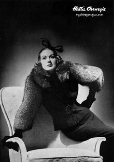 Hattie Carnegie: Her shop carried her own 'Hattie Carnegie Couture' collection, Paris couture imports from Chanel, Vionnet and Dior, a fur line, her several ready-to-wear lines under different names, a costume jewelry line, a cosmetic line and even a chocolate line.