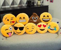 Como hacer almohadas de emoticones                                                                                                                                                      Más