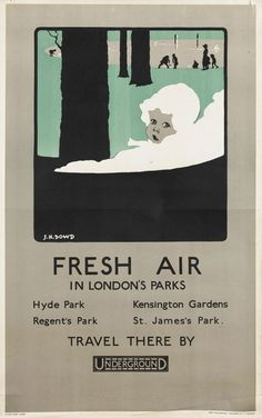 Fresh Air in London's Parks, by James Henry Dowd, 1924