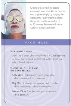 Young Living Essential Oils Facial Mask