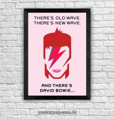 """Poster """"There´s Bowie"""""""