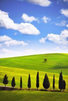 Tuscany Paradise by Sławomir Stępień on 500px
