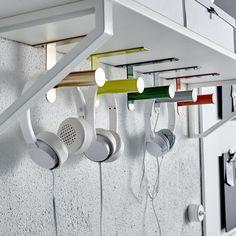 DIY - IKEA wc-rolhouder omtoveren als hangers