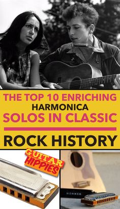 Harmonica Solos - The Top 10 Enriching Solos In Classic Rock History     #harmonica #guitar #music #guitarhippies   GuitarHippies - Your Musical Journeys Top Inspiration Point.