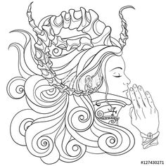 366 Best Steampunk Coloring Pages for Adults images in