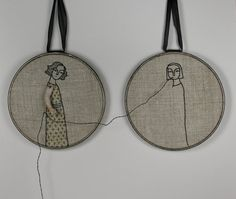 hand embroidery hoop art- reap what you sew - Cindy Steiler $240