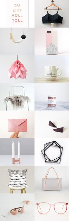 voll toll by Barbara on Etsy--Pinned+with+TreasuryPin.com Gift Guide, Place Card Holders, Etsy