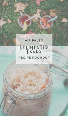 AIP Fermented Foods Recipe Roundup | Enjoying this Journey...