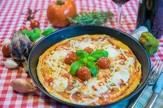 Pizza  Nähere Informationen zur Zubereitung finden Sie auf meinem Blog unter: http://360-einfachlecker.de/pizza/