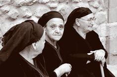 Three old ladies - Metsovo, Ioannina