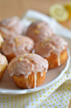 Muffinki cytrynowe Baking Recipes, Cake Recipes, Scottish Recipes, Polish Recipes, Polish Food, Breakfast Dessert, Blue Berry Muffins, Blueberries Muffins, No Bake Cake