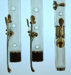 Crystal flute details (C. Laurent 1809)