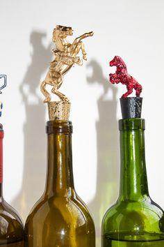 equestrian wine bottle stoppers