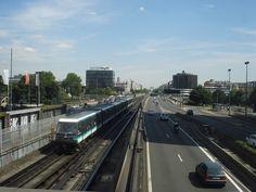 RATP ligne 1 pont de Neuilly vers la defense