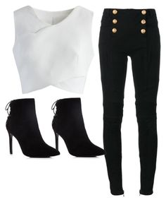 Designer Clothes, Shoes & Bags for Women Charles David, Balmain, Polyvore Fashion, Shoe Bag, Boots, Clothing, Stuff To Buy, Shopping, Collection