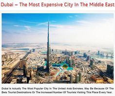 Is Actually The Most Popular City In The United Arab Emirates. May Be Because Of The Bets Or The Increased Number Of Tourists Visiting This Place Every Year. Travel Wallpaper, Full Hd Wallpaper, Dubai Tourism, Wallpaper Please, Tourist Places, United Arab Emirates, Burj Khalifa, Weird Facts, Wonders Of The World