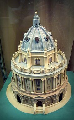 Edible Art, Beautiful Building Cake | .seen in oxford.
