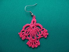 PDF Tutorial Crochet PatternLace Dangle by accessoriesbynez, $3.25