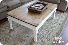 Coffee Table Re-Do Ideas
