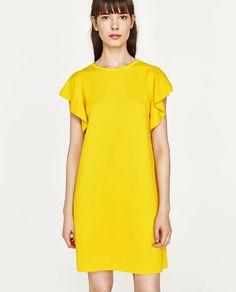 34a3ff97a 7 imágenes inspiradoras de vestido amarillo zara