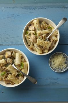 Rigatoni with Gorgonzola Sauce and Chicken #pasta #chicken #myplate