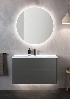 New Bathroom Ideas, Bathroom Spa, Laundry In Bathroom, Bathroom Vanity Lighting, Master Bathroom, Modern Luxury Bathroom, 1960s House, Wall Treatments, Bathroom Interior Design