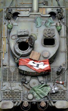 ◆タイガー1初期型332号車 : 模型製作報告書【プラモログ】