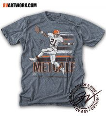 With the success of the High Five Langhorne and Slaughter shirt GV Art + Design decided to turn back the clock once again. We are extremely excited to be able to team up with Eric Metcalf, another Cleveland Great, and one of our all time favorite players growing up.