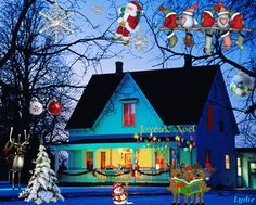 Are you looking for animated christmas gifs? We have come up with a handpicked collection of merry christmas animated gif. Animated Christmas Pictures, Merry Christmas Photos, Merry Christmas Wishes, Christmas Scenes, Christmas Villages, Christmas Art, Christmas Greetings, Christmas Lights, Vintage Christmas
