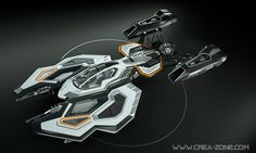 Spaceship 3D concept design, stock media available on (http://www.cgtrader.com/iterateCGI), visit to find more images of this design.