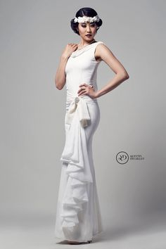 Stunning style bridal gown by A Rare Vision Bridal Gowns, Wedding Gowns, I Dress, 1920s, Designer Dresses, Wedding Inspiration, Dress Designs, Formal Dresses, Unique