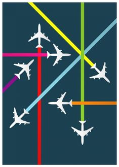 Aeroplane - where have you been? Where are you going? Replace the planes with students kind of interesting