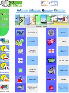 ICT Games - for use in classrooms by students. Perfect for those looking for free activities for: interative whiteboards, BYOD, keyboarded devices and iPads/tablet computers, in all core curriculum areas. Ict Games, Core Curriculum, More And Less, Free Activities, Place Values, Math Skills, Educational Games, Learning Resources, Teaching Math