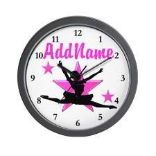 DANCE SUPER STAR Wall Clock http://www.cafepress.com/sportsstar/10423569 #Dancer #Dancing #Dancergifts #Ballet #Ilovedancing #Ballerina #Ballerina #Ballet #Personalizeddancer