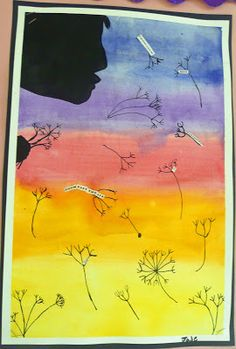 that artist woman: Dandelion Poetry Project- I think this would be wonderful for… Fun Crafts For Kids, Diy Arts And Crafts, Art For Kids, Poetry Projects, Art Projects, Project Ideas, Painting Lessons, Art Lessons, Teacher Workshops