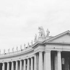 Rome | Vatican #Italy #Roma #Vaticano #architecture #StPierre by alixcaroline
