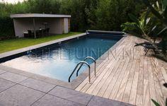 Afbeeldingsresultaat voor zwembad tuin modern