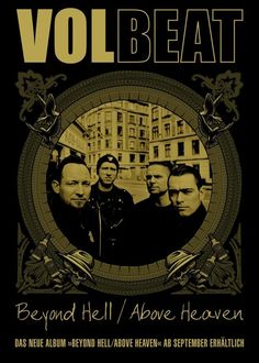 VolBeat....love this group.