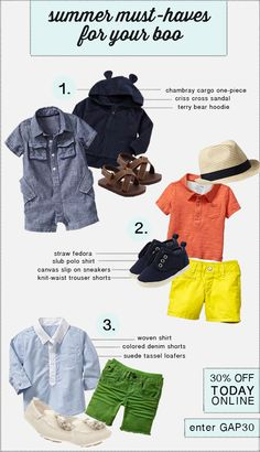 baby gap love the tassel moccasins (Olivia had them in green) the navy boat  shoes! eb42a1135c5e