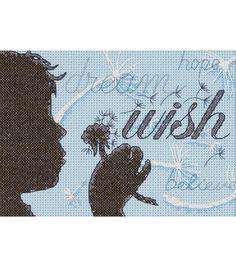 Dimensions Wish Mini Counted Cross Stitch KitDimensions Wish Mini Counted Cross Stitch Kit,