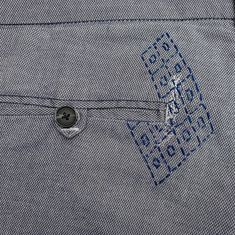 """RullaKoo, Riitta Kahelin on Instagram: """"Mending a tear right next to the pocket.  #visiblerepair #visiblemending #mending #mendyourclothes #slowstitching #mendingmatters…"""" Visible Mending, Stitching, Pocket, Mens Tops, Diy, Instagram, Costura, Stitches, Bricolage"""