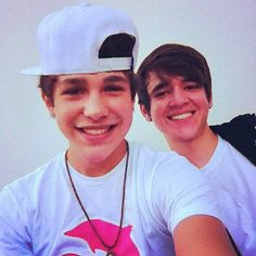 Austin Mahone and Alex Constancio :)