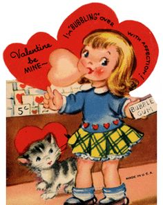 I love vintage Valentines. I wish they still made boxes like this!