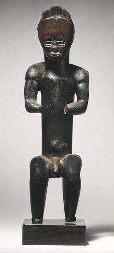 Fang-Ntumu Male Reliquary Statue (eyema byeri), Northern Gabon   Lot   Sotheby's