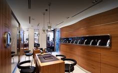 Officine Panerai Boutique in Paris Panerai Watches, Conference Room, Watches Online, Architecture, Luxury Watches, Boutiques, Table, Furniture, Home Decor