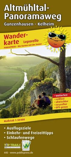 Altmuehltal-Panoramaweg, Wandern ohne Gepaeck, 9 ÜF ab 496,00 €, Alpenlandtouristik