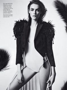 visual optimism; fashion editorials, shows, campaigns & more!: patrycja gardygajlo by marcin kempski for elle poland march 2014