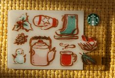 Our favorite wintery things. #StarbucksCard