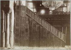 Kairouan  Grande mosquée   Le minbar    1882
